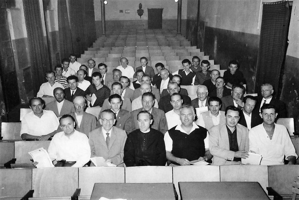 salone cinema 1961